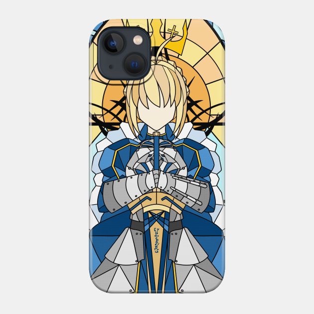 Stained Glass Saber Artoria