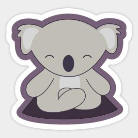 Chibi Koala Stickers Teepublic