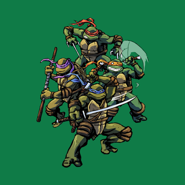 Turtle Power (textless)