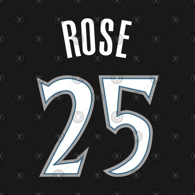 pretty nice 5cd95 e5d40 Derrick Rose Timberwolves Jersey