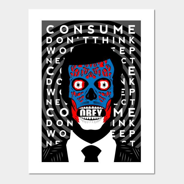Obey - Poster - Obeybear - Wall Art | TeePublic