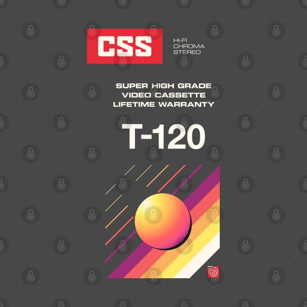 Retro Blank VHS CSS