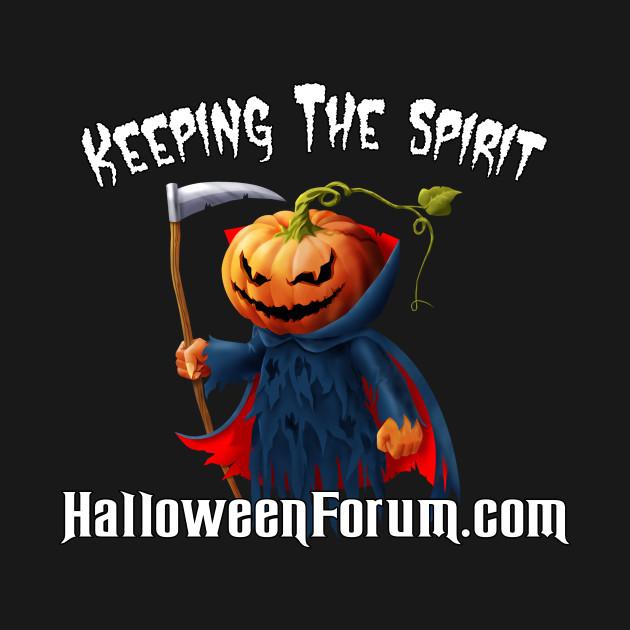 Keeping The Spirit Halloween Forum - Halloween - T-Shirt | TeePublic
