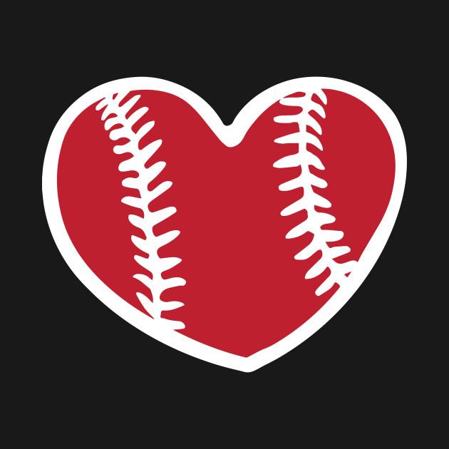 Baseball Heart I Love Baseball Cute Baseball Shirt Baseball Tank Top Teepublic
