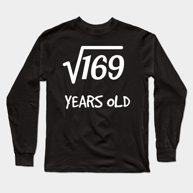 1627893924 CafePress 13 Years Old Square Root T Shirt Kids Cotton T-shirt