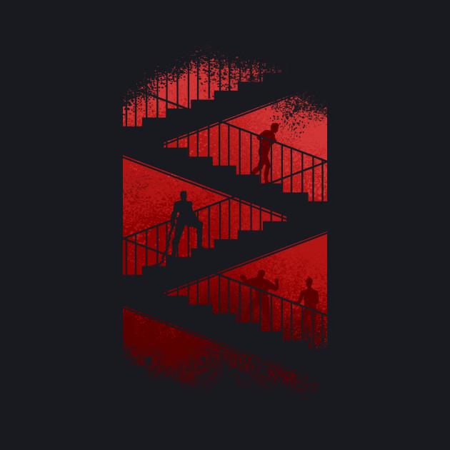 daredevil stair scene