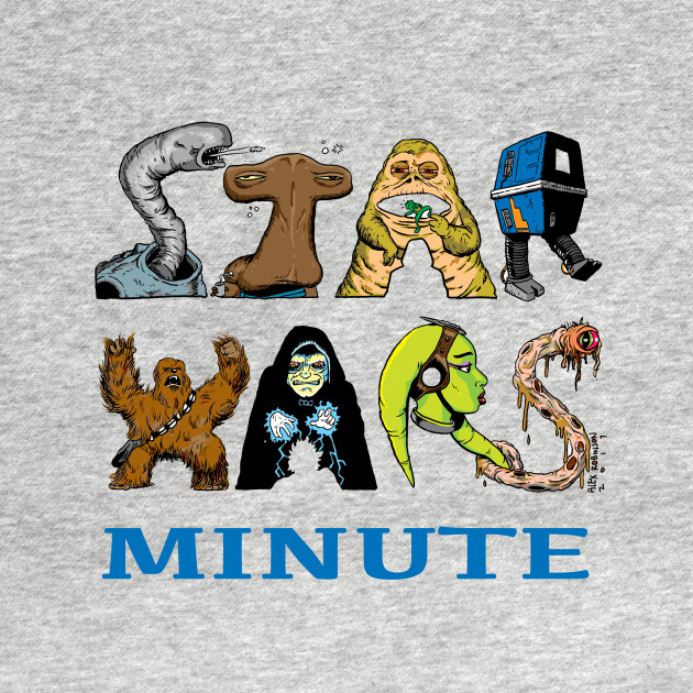Star Wars Minute Character Logo
