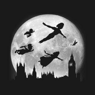 flying over big ben t shirt