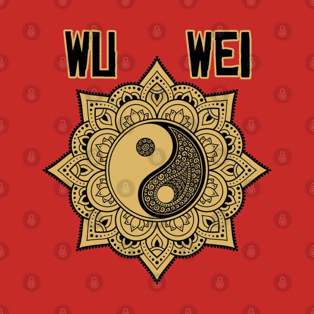 wu wei yin yang mandala  taoism tao  onesie  teepublic au