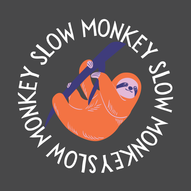 Slightly Wrong Sloth Monkey