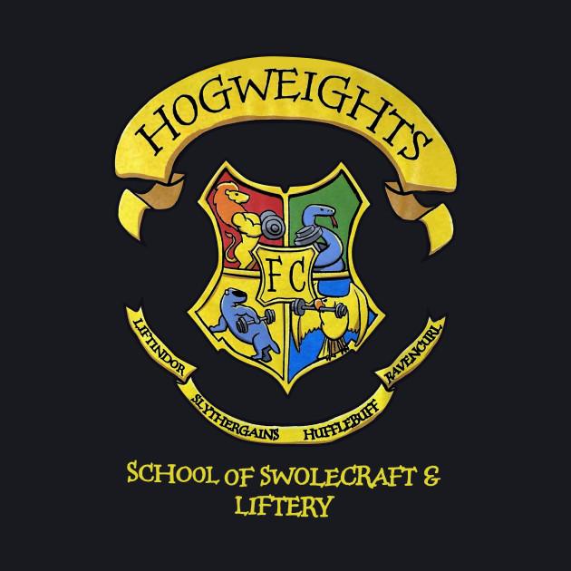 Harry Potter Hogweights School of Swolecraft & Liftery