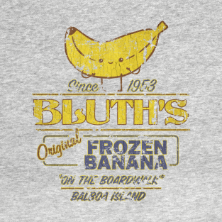 Bluth's Original Frozen Banana - Vintage t-shirts