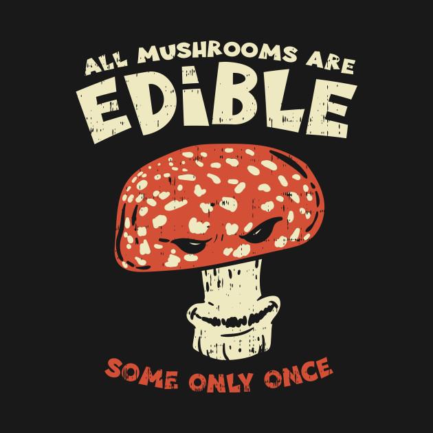 Mushroom Hunter T-Shirt fungi vegan