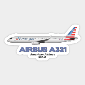 American Airlines Stickers | TeePublic