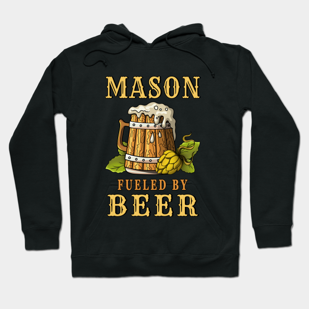 Mason Fueled by Beer Design Quote