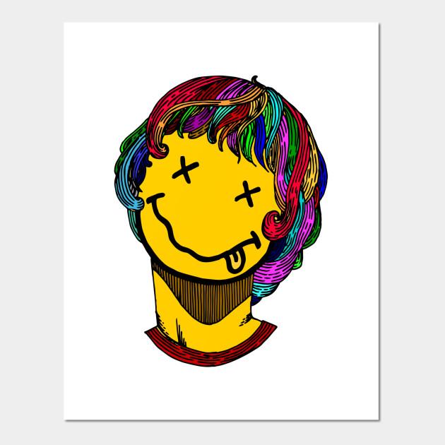 kurt and nirvana - Nirvana - Posters and Art Prints | TeePublic UK
