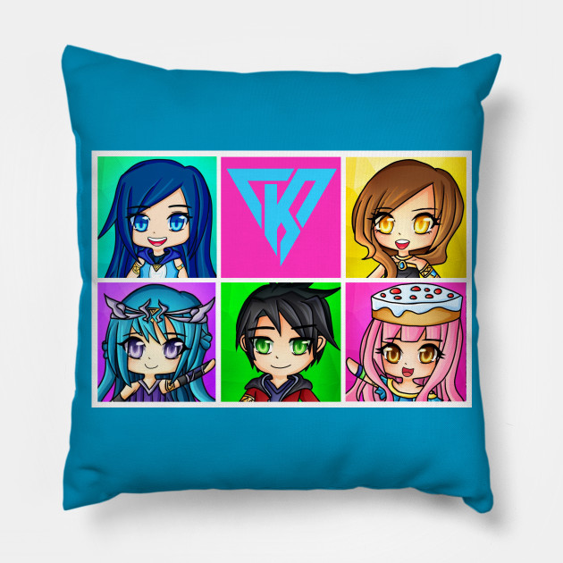 Funneh and the Krew Anime style