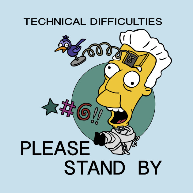 Image result for Kent Brockman - Technical Difficulties