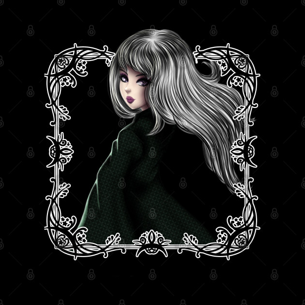 Gothic Anime Style Girl
