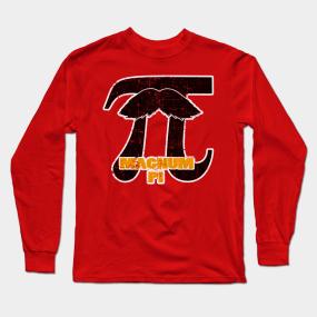 5f2b6f266 Magnum Pi Long Sleeve T-Shirts | TeePublic