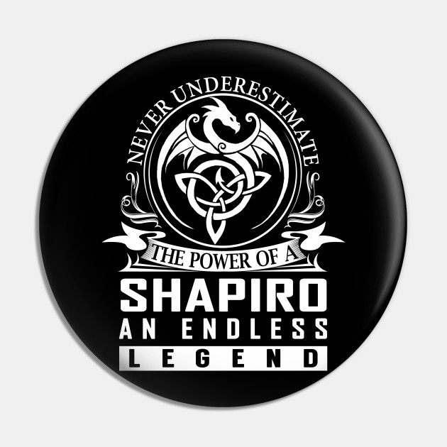 Never Underestimate The Power of a SHAPIRO