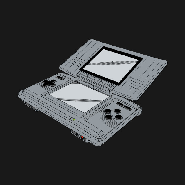 Video Game Inspired Console Nintendo DS
