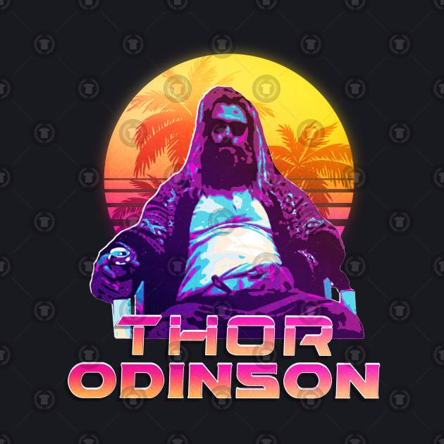 Thor odinson Avengers Endgame (Vintage / 80s) v1