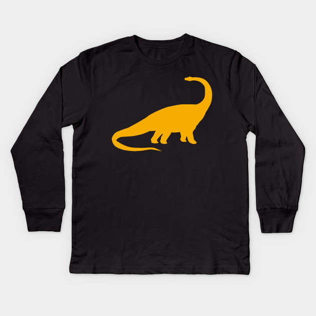 Dinosaur Fossil Brontosaurus Youth T Shirt