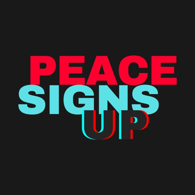 Peace Signs Up! Shirt