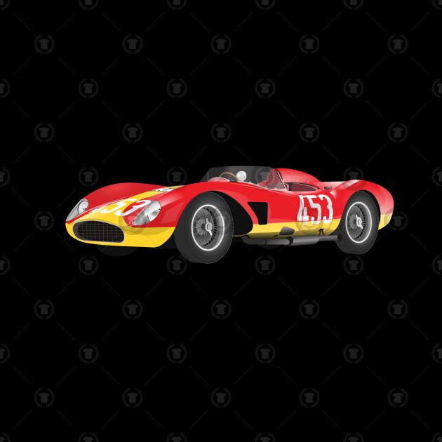 CAR T-SHIRT RACE CAR
