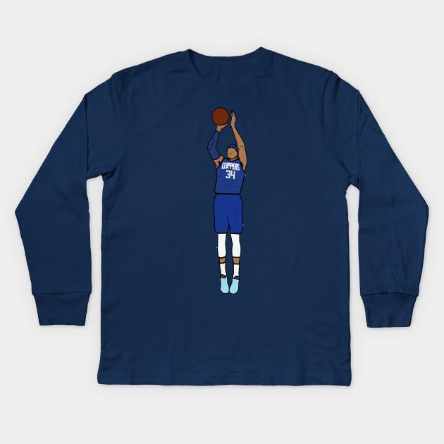 newest f3fd7 a78ac Tobias Harris Jumpshot - Los Angeles Clippers