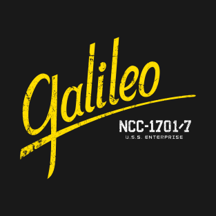 Galileo 7 t-shirts