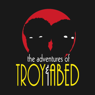 The Adventures of Troy and Abed t-shirts