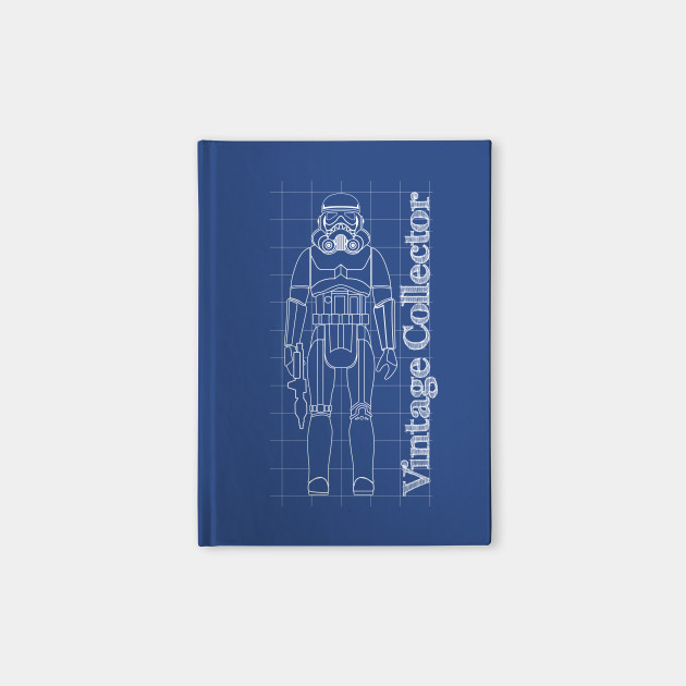 Blueprint army builder action figure troopers notebook teepublic blueprint army builder action figure malvernweather Gallery