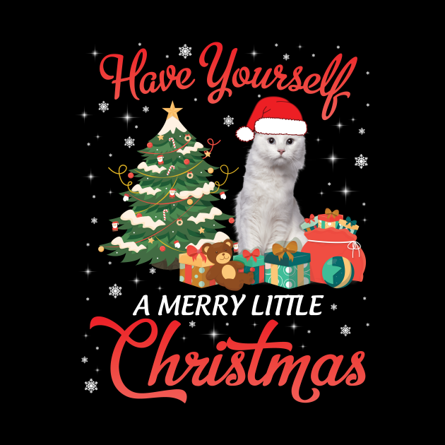 American Curl Cat Have Yourself A Merry Little Christmas Merry Xmas Noel Day Cat Mom Dad