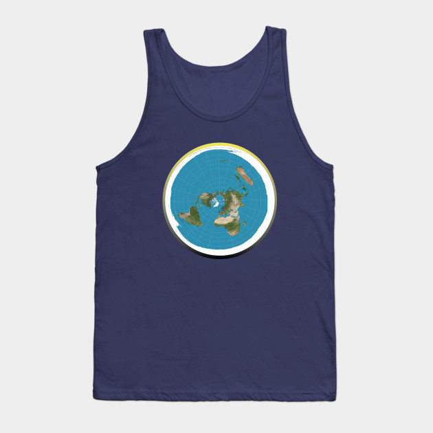 The Flat Earth T-Shirt With Firmament Day Night Cycle Tank Top