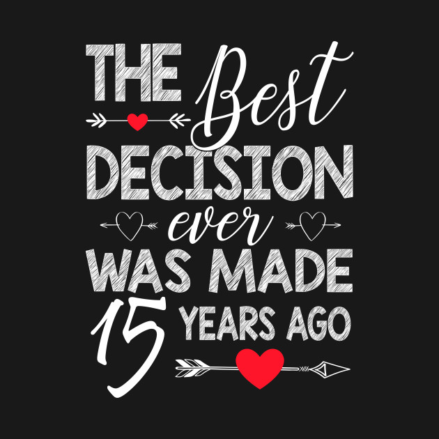 15th Wedding Anniversary.15th Wedding Anniversary Shirt For Couple