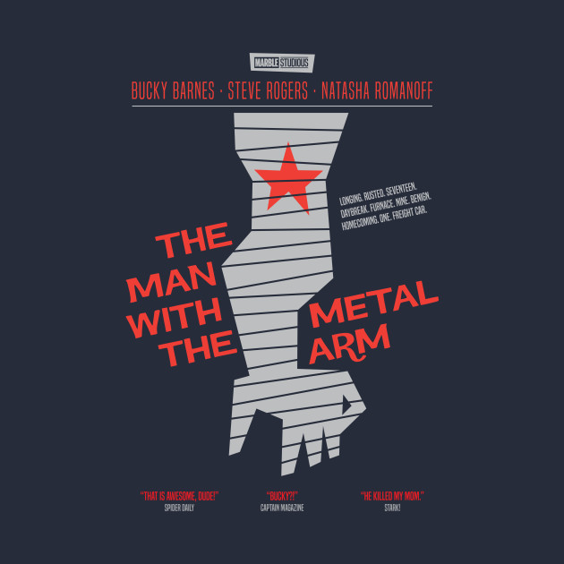 The Man With The Metal Arm