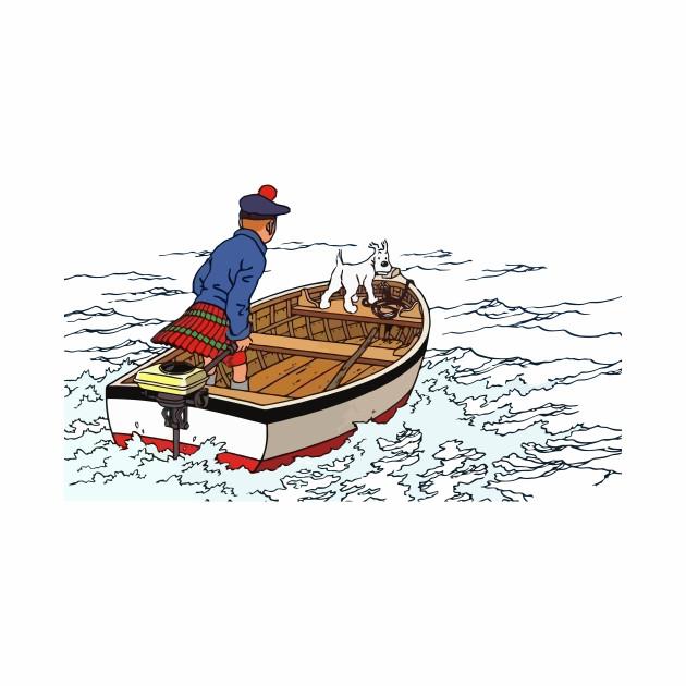Tintin Black Island