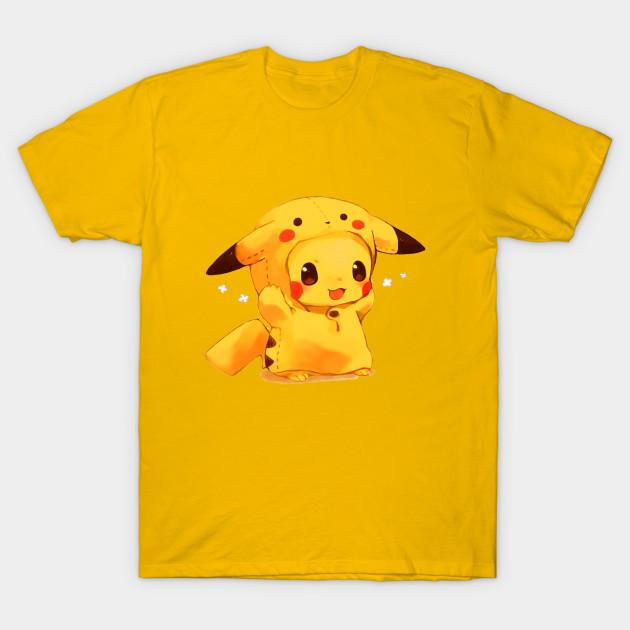 6b226714 Pikachu cute - Pikachu - T-Shirt | TeePublic