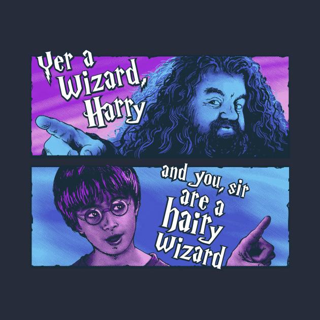 Hairy Wizard (purple-blue variant)