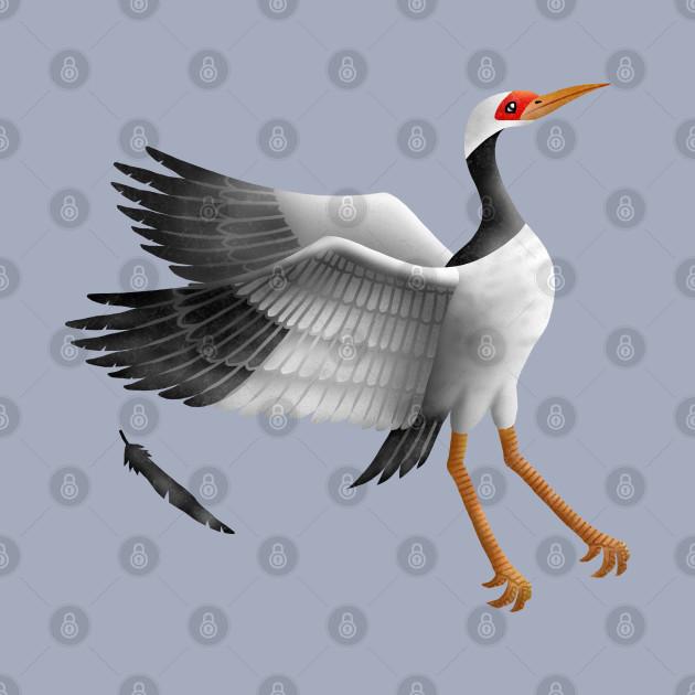 Snow Crane(Siberian White Crane)