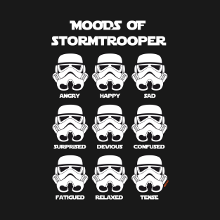 Moods of Stormtrooper t-shirts