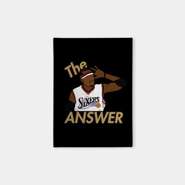 Allen Iverson 'The Answer' - NBA Philadelphia 76ers