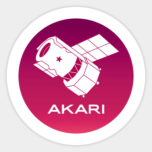 Akari Red Logo Akari Red Logo Sticker Teepublic