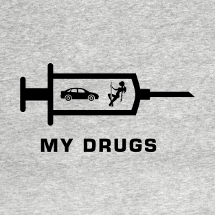 My drugs t-shirts