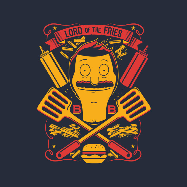 Bob's Burgers Lord Of The Fries T-Shirt
