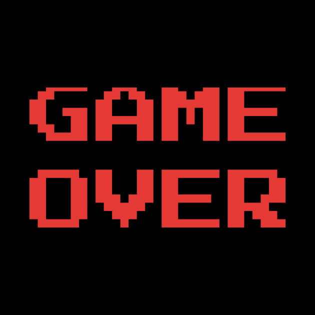 Retro Game Over Gaming