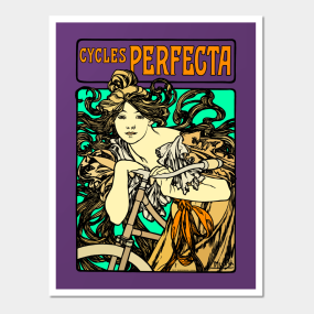 Alphonse Mucha Cycles Perfecta