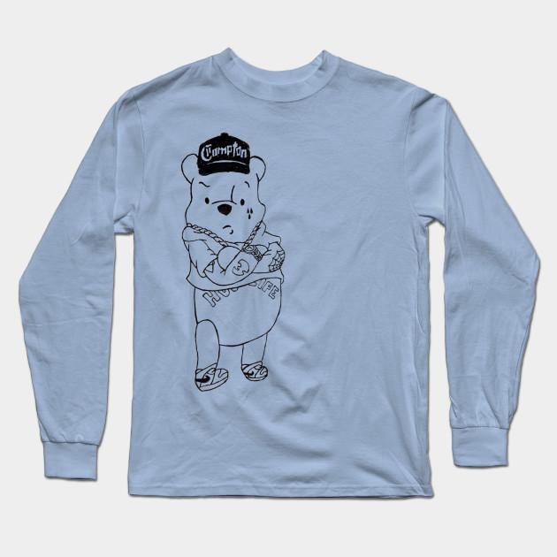 Gangster Pooh Bear Pooh Long Sleeve T Shirt Teepublic